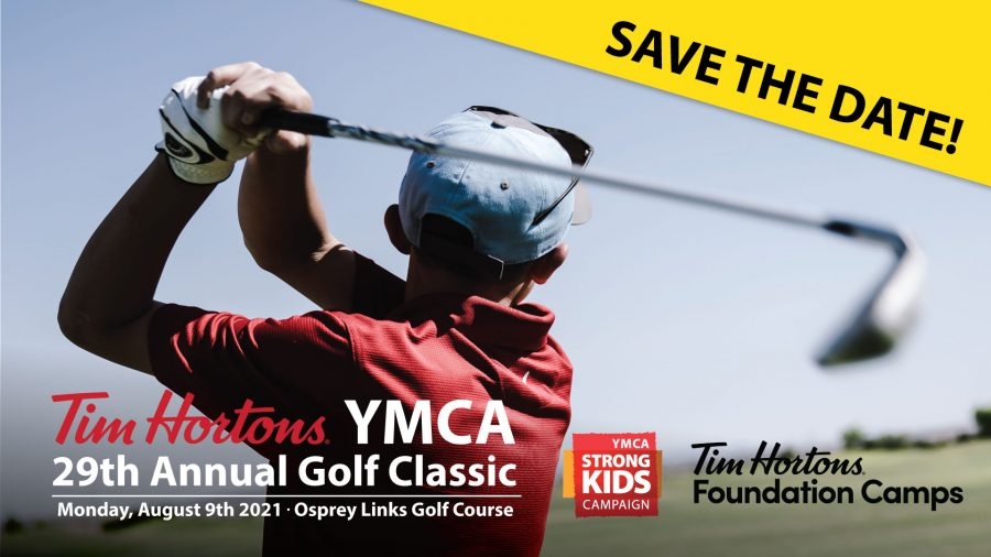 Save The Date - Tim Hortons YMCA Golf Classic