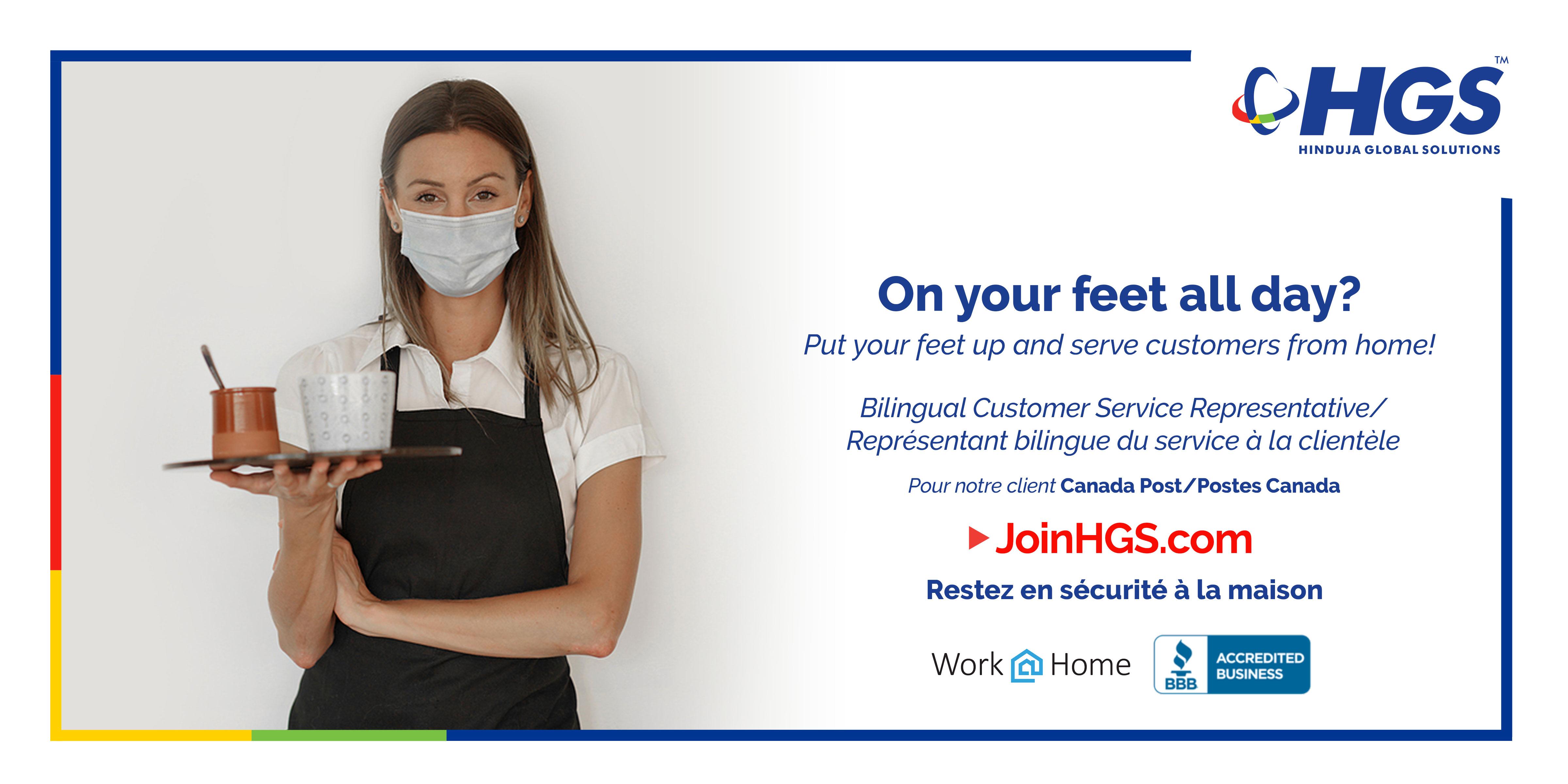 Bilingual Customer Service Agent (French/English)