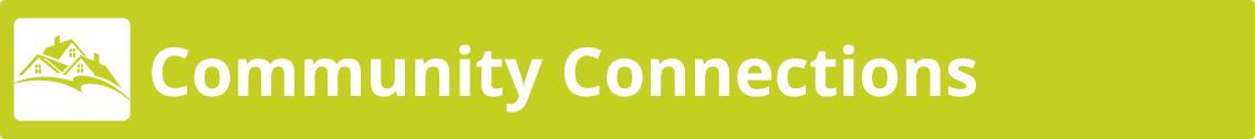 Community Connections Menu