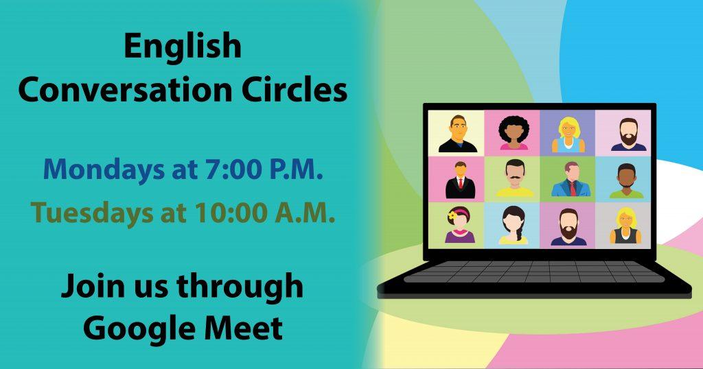 English Conversation Circle Reminder